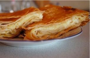 Пирог из тонкого лаваша с сыром - фото шаг 4