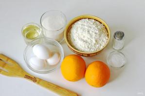Кекс на апельсиновом соке - фото шаг 1