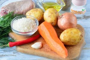Суп с красным острым перцем - фото шаг 1