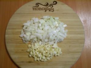 Курица с рисом и овощами в мультиварке - фото шаг 3