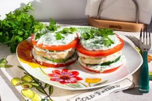 Цукини с рыбой и помидорами - фото шаг 11