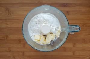 Киш со шпинатом и сыром - фото шаг 2