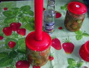 Салат на зиму из огурцов и помидоров - фото шаг 4