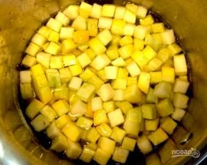 Овощи с жареным яйцом - фото шаг 3