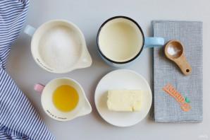 Ириски из молока и сахара - фото шаг 1