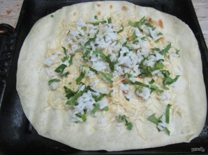 Буррито с телятиной рисом и фасолью  - фото шаг 11