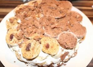 """Торт без выпечки с """"Рафаэлло"""" - фото шаг 10"""