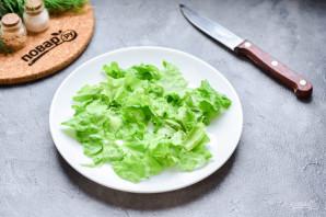 Салат с копченой курицей и грушей - фото шаг 3