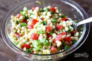 Острый салат из кукурузы - фото шаг 3