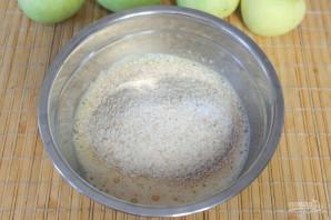Шарлотка из цельнозерновой муки - фото шаг 3