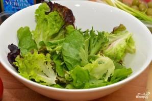Салат с фисташками - фото шаг 2
