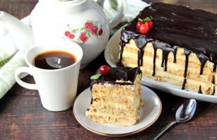 """Торт из печенья """"Топленое молоко"""" - фото шаг 12"""
