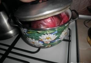 Рулет из свинины вареный - фото шаг 4