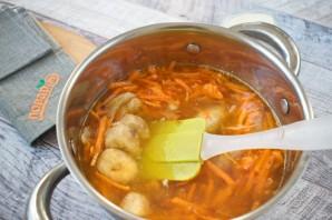 Остро-сладкий морковный биск - фото шаг 4