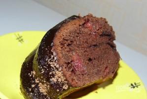 Шоколадно-вишневый кекс - фото шаг 8
