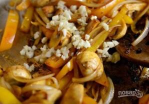 Каджунская паста с курицей - фото шаг 5