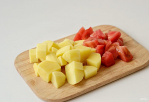 Овощная шурпа - фото шаг 2