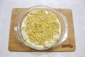 Пирог из лаваша с капустой - фото шаг 12