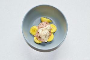 Яйца фаршированные тунцом - фото шаг 5