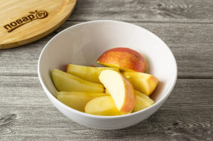 Компот из яблок на зиму - фото шаг 2