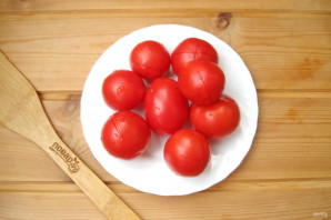 Помидоры в томате на зиму - фото шаг 2