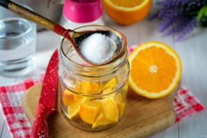 Компот из апельсинов на зиму - фото шаг 4