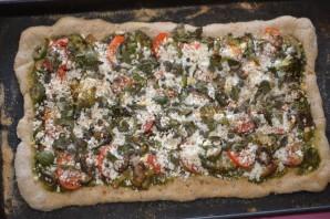 Пицца с сырными бортиками - фото шаг 4