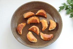 Постные пирожки с фасолью - фото шаг 12