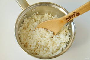 Пирог с рисом, изюмом и курагой - фото шаг 5
