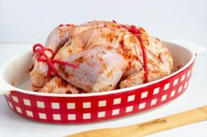 Курица, запеченная с аджикой - фото шаг 4