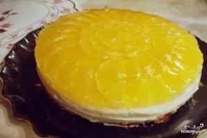 Апельсиновое желе для торта - фото шаг 3