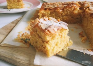 Пирог с кардамоном, апельсином и имбирем - фото шаг 4