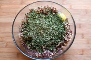 Печеночник с рисом, луком и кабачком - фото шаг 2