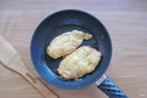 Куриное филе в белковом кляре - фото шаг 9