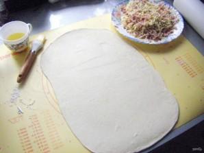 Несладкий пирог на скорую руку - фото шаг 1