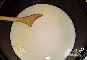 Рисовая молочная каша в мультиварке - фото шаг 3