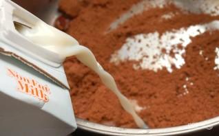 Шоколадное молоко - фото шаг 1