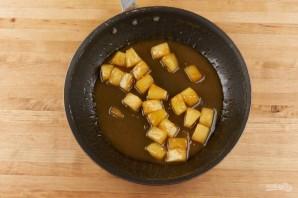 Тосты с ананасом - фото шаг 2