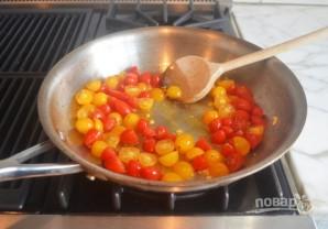 Запечённый сыр фета с помидорами - фото шаг 2
