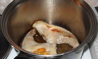 Кролик в чесночном соусе - фото шаг 1