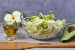 Салат из авокадо и капусты - фото шаг 4