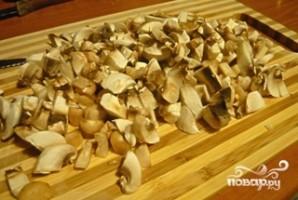 Рыба по-царски с грибами - фото шаг 2