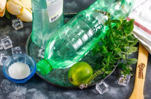 Мохито с мартини - фото шаг 1