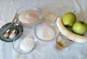 Фруктовый кекс из цельнозерновой муки - фото шаг 1