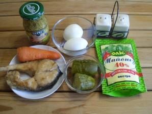 Салат к рису - фото шаг 1