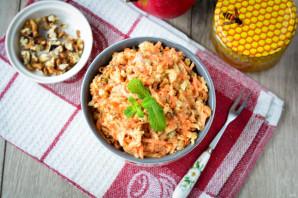 Салат с орешками - фото шаг 10