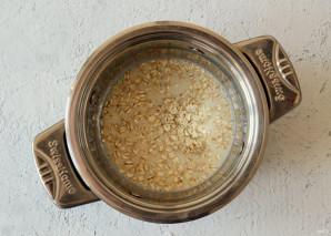 Каша с арахисовой пастой - фото шаг 2