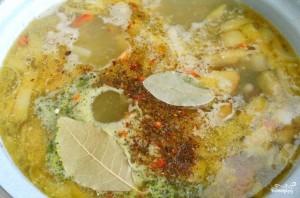Суп со свининой и овощами - фото шаг 3