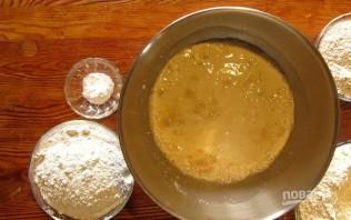 Хлеб деревенский из трех видов муки - фото шаг 1