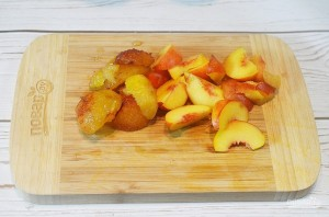 Варенье из нектаринов и слив с ванилью - фото шаг 1